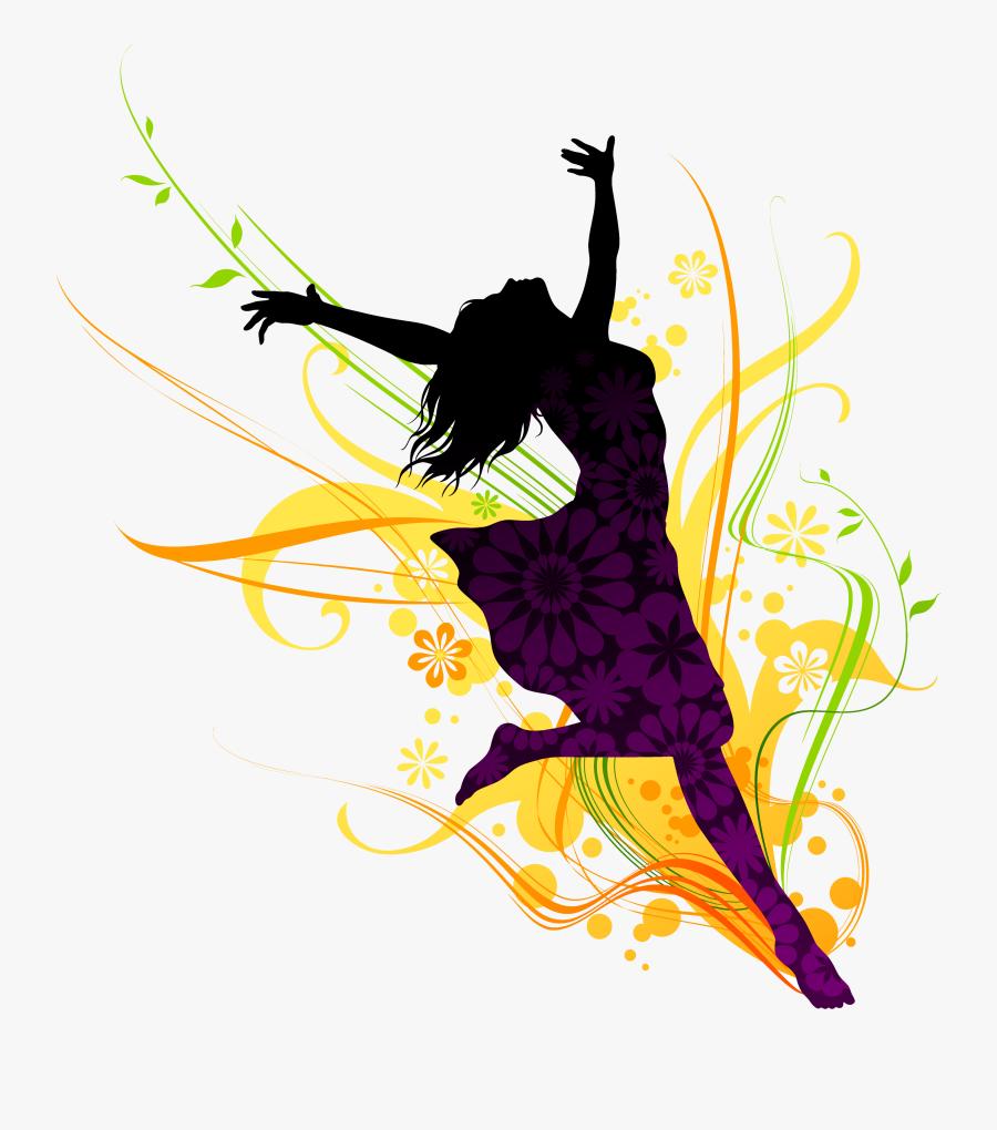 Thumb Image - Dancing Girls, Transparent Clipart