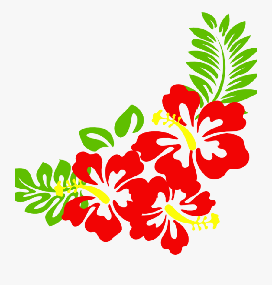 Hawaiian Border Clip Art Hawaiian Flower Clip Art Borders ...