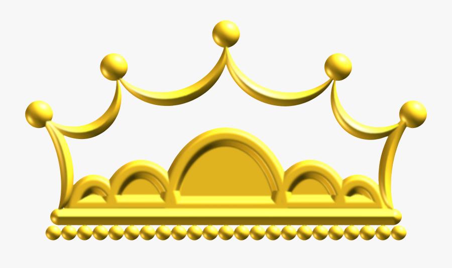 Gold Crown Png -gold Crown Png - Crown Png Golden Clipart, Transparent Clipart