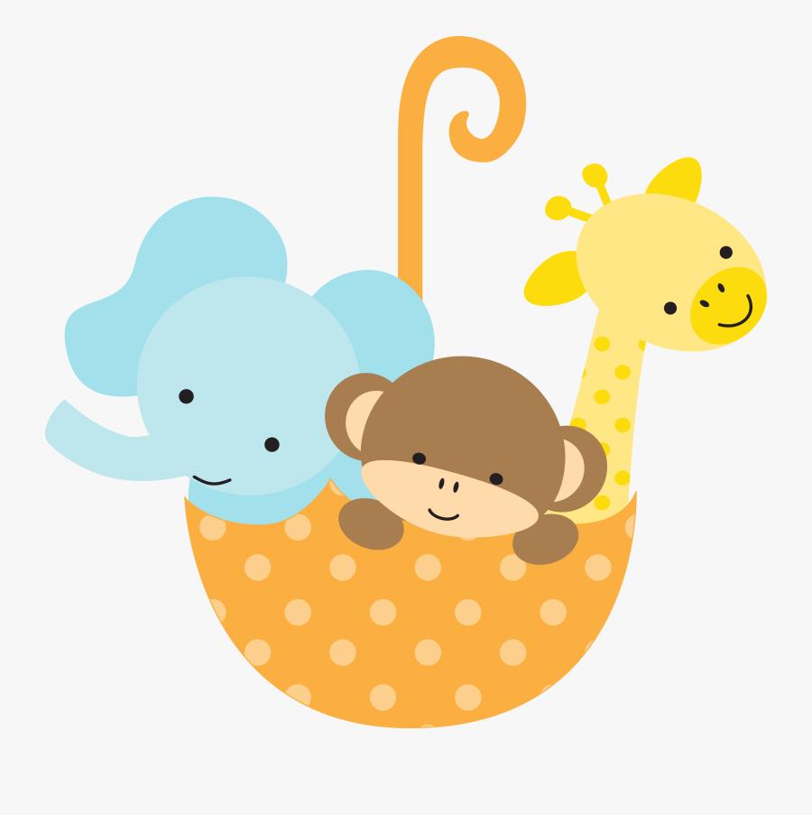 Safari Baby Shower Clipart - Baby Shower Clip Art Gender Neutral, Transparent Clipart