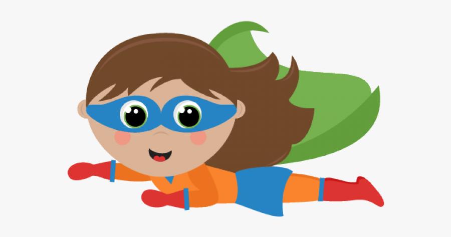 Kid Superhero Clipart - Flying Superhero Clipart , Free ...