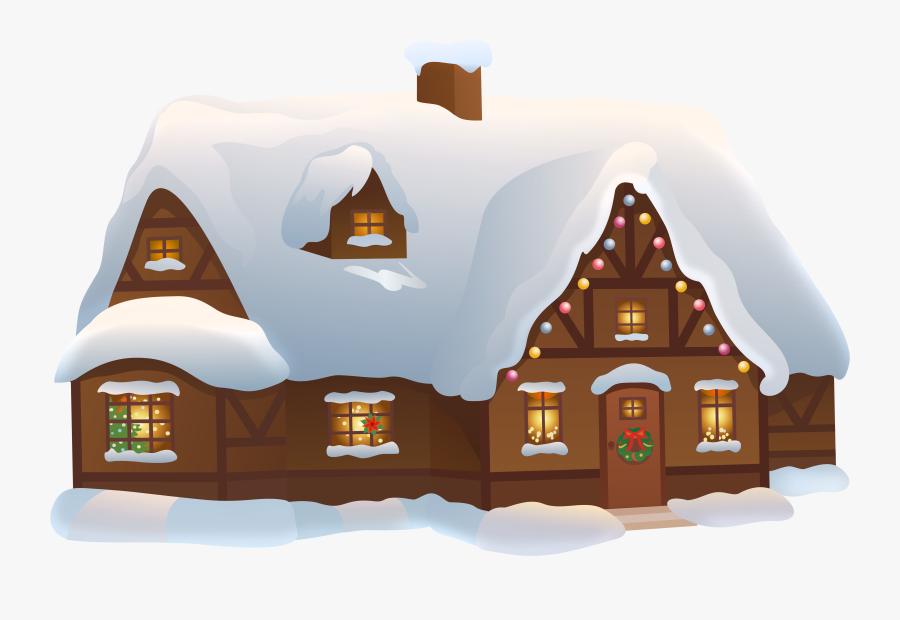 Winter House Clip Art