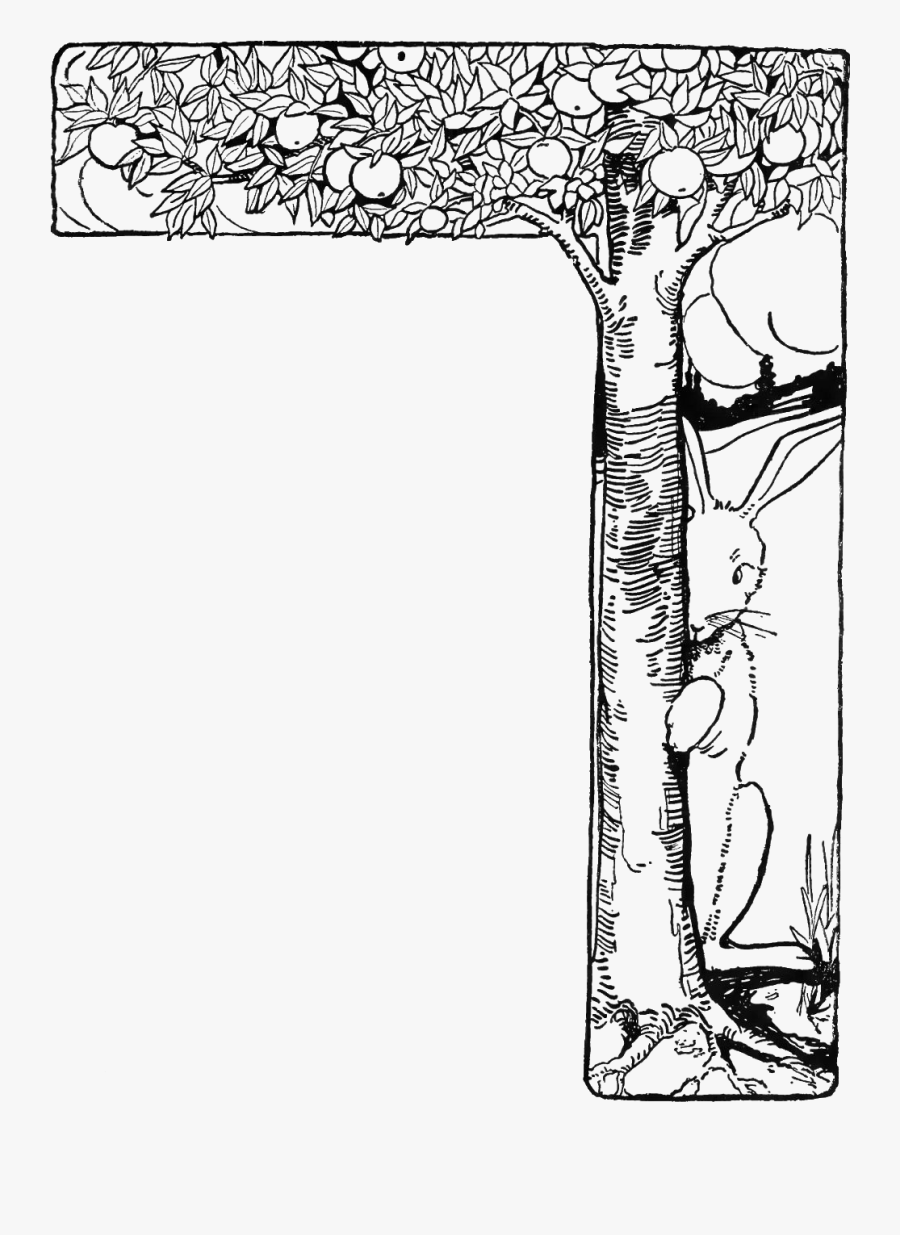 Transparent Peter Rabbit Png - Black Peter Rabbit Clipart, Transparent Clipart