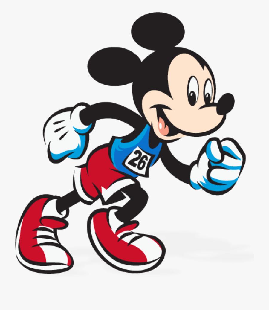 Run Clipart Cartoon - Walt Disney World Marathon, Transparent Clipart