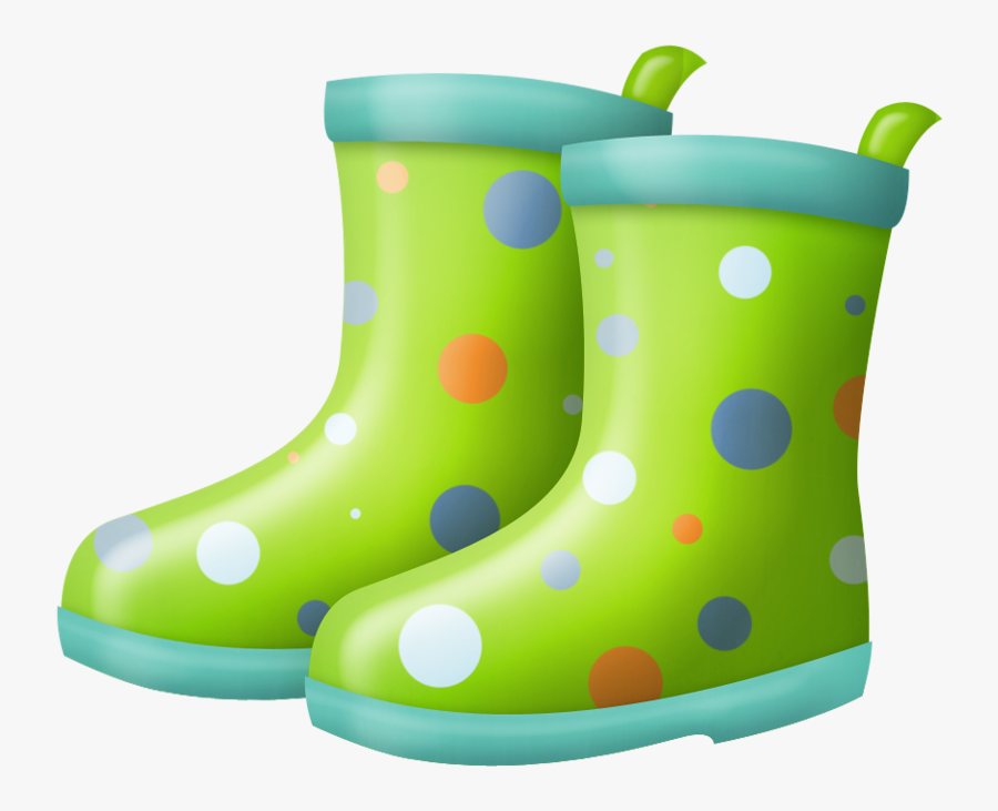 Rain Boots Green Clipart Rain Boot Pencil And In Color - Rain Boots Clipart Png, Transparent Clipart