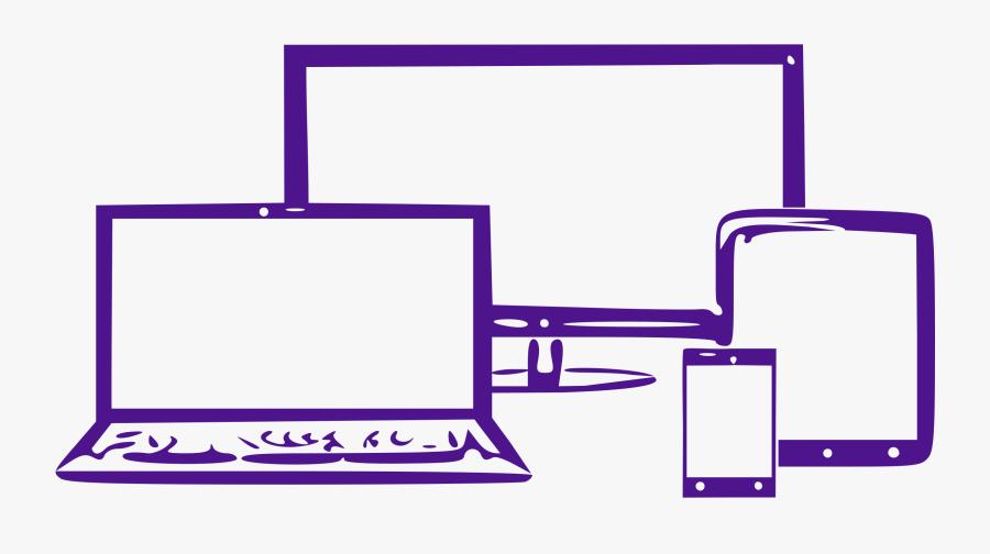Transparent Smartphone Clipart - Web Design Website Clip Art, Transparent Clipart