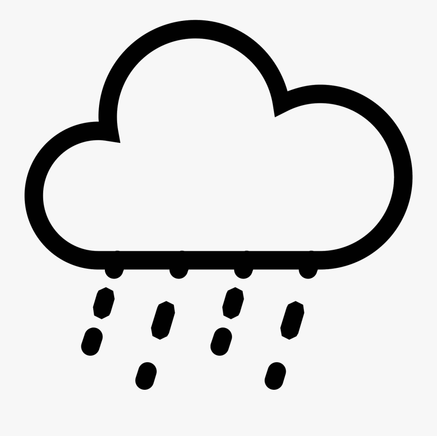 Cliparts For Free Download Rain Clipart Acid Rain And - Cloud With Lightning Icon, Transparent Clipart