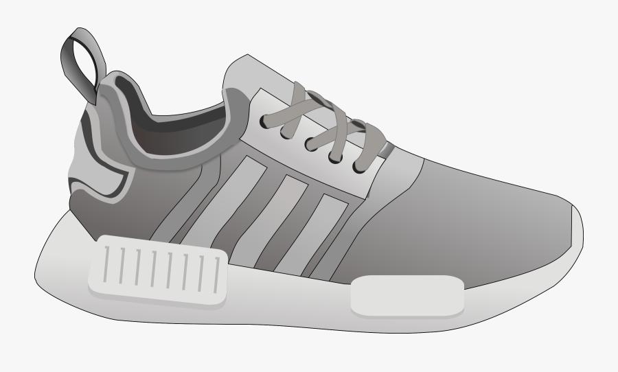 Athletic Shoe,brand,walking Shoe - Clipart Shoe Transparent, Transparent Clipart
