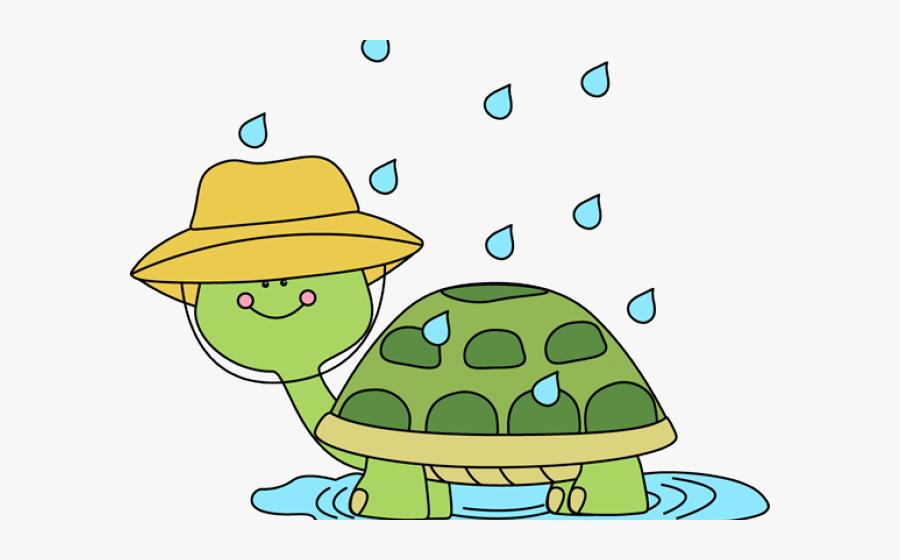 Rain Clipart School - Animals In Rain Clipart, Transparent Clipart