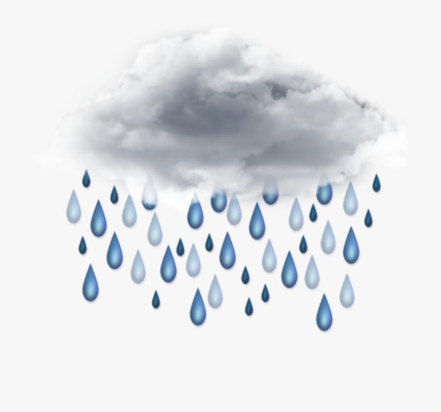 Rain Clipart Sky - Transparent Background Rain Clipart, Transparent Clipart