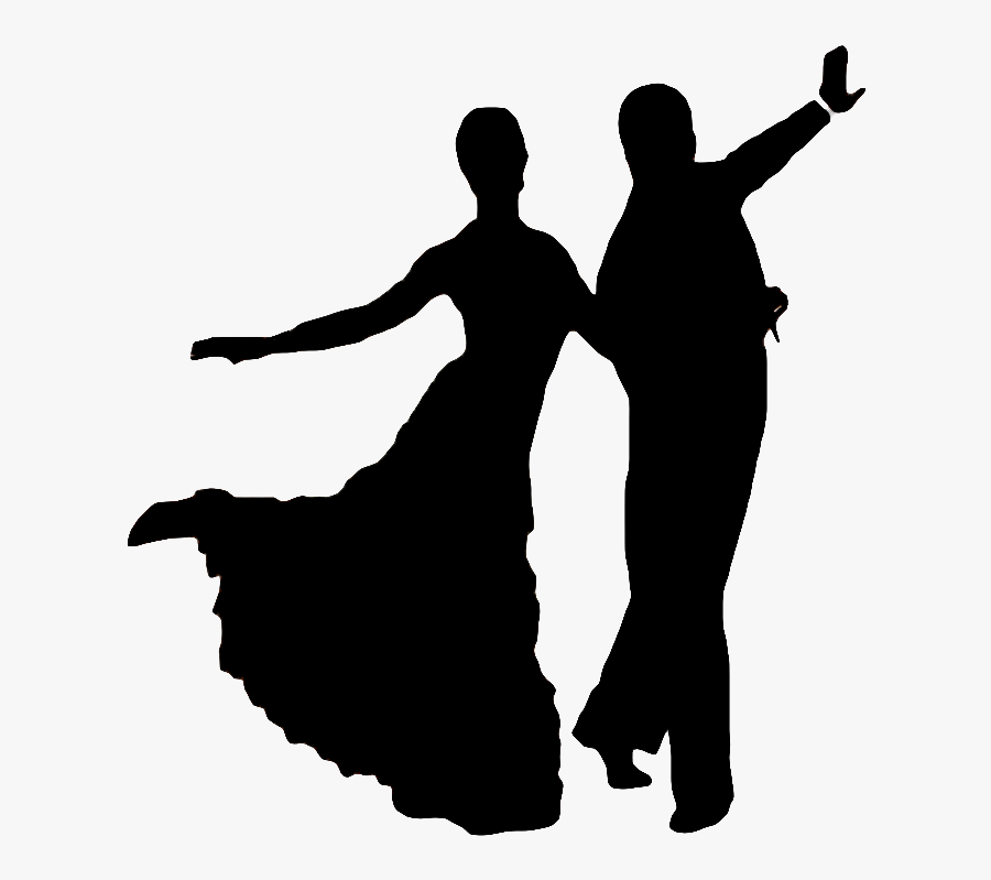 Dancing Clipart Social Dance - Ballroom Dancing Png, Transparent Clipart