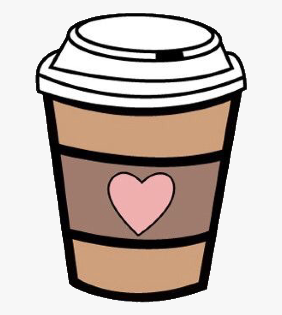 19 Starbucks Coffee Cup Clipart Library Download Huge - Coffee Cup With Heart Clipart, Transparent Clipart