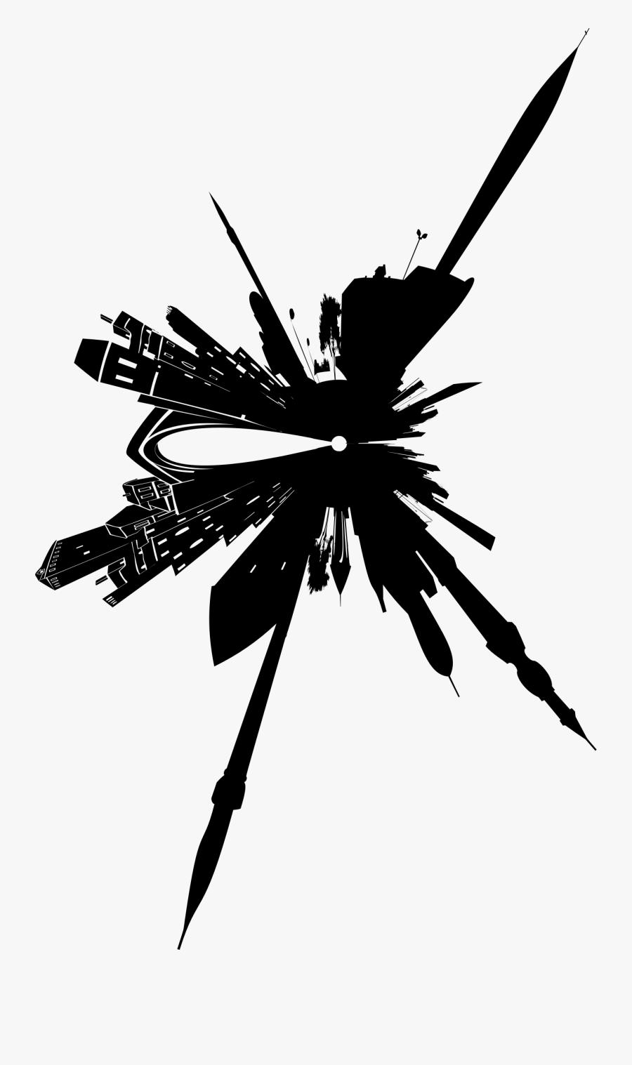Silhouette Skyline Clip Art - Portable Network Graphics, Transparent Clipart
