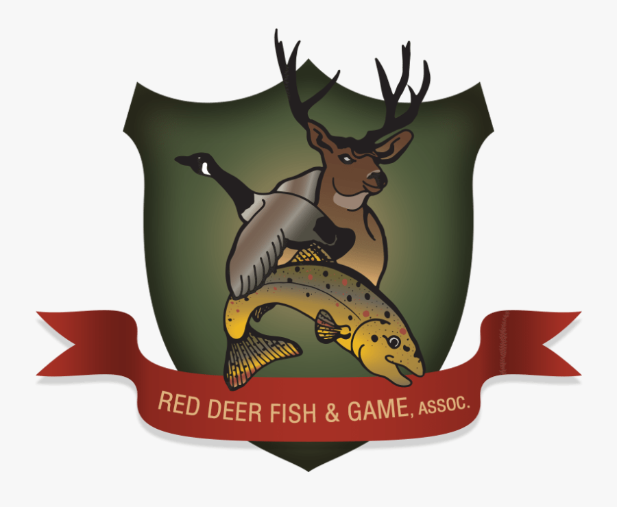 Deer Hunter Clip Art - Red Deer Fish And Game, Transparent Clipart