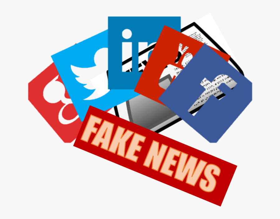 Fake News Is Becoming More Prevalent Throughout Social - Social Media Fake News Png, Transparent Clipart