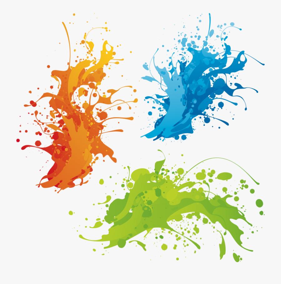 Color Png Transparent Images - Happy Holi Cb Background, Transparent Clipart