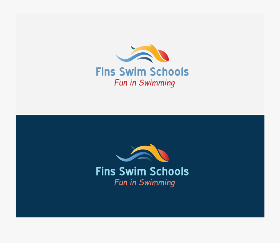 Clip Art Bold Playful School For - Swimming School Logo, Transparent Clipart