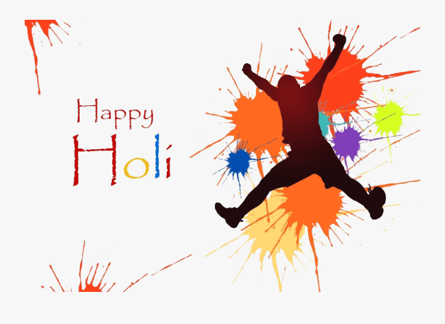 Happy Holi Png Download - Happy Holi Png Background, Transparent Clipart
