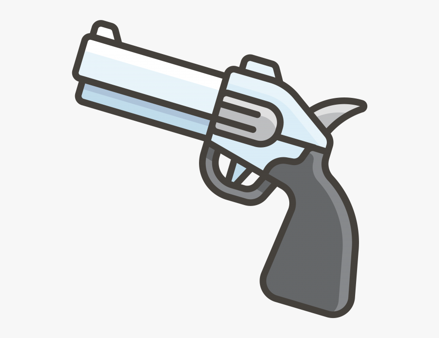Pistol Emoji Png Transparent Emoji - Old Gun Emoji Png Transparent, Transparent Clipart