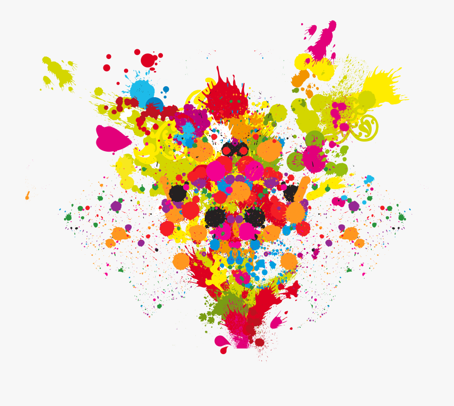 Love Wish Colours Holi Year Transparent Happiness Clipart - Explosion Of Colored Png, Transparent Clipart