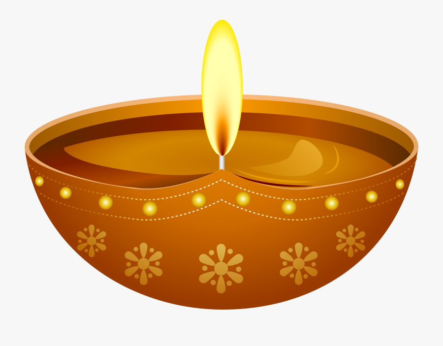Diwali Transparent Anoopam Candle Mission clipart