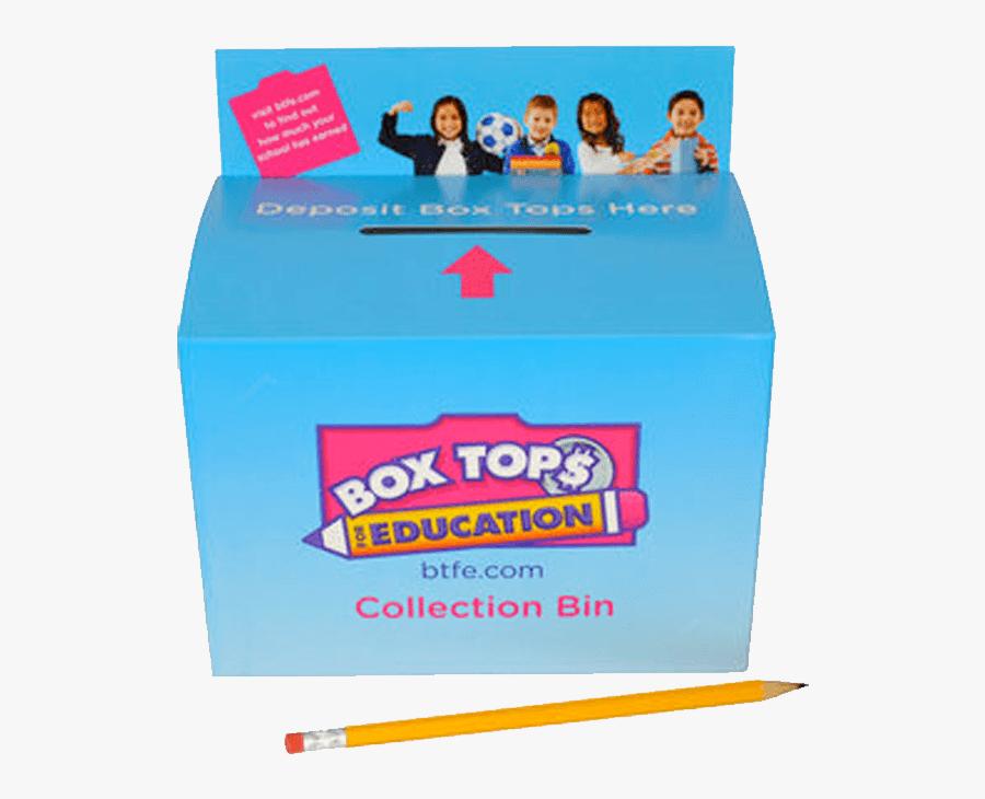 Box Tops Drop Off, Transparent Clipart