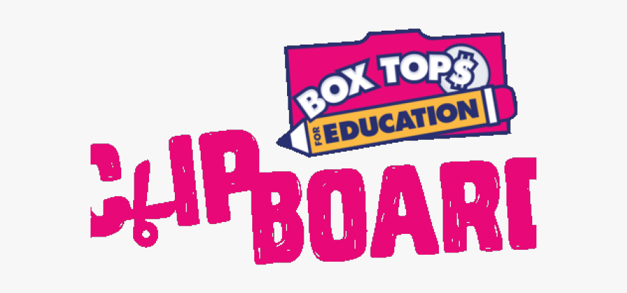 Box Tops Cliparts - Box Tops For Education, Transparent Clipart