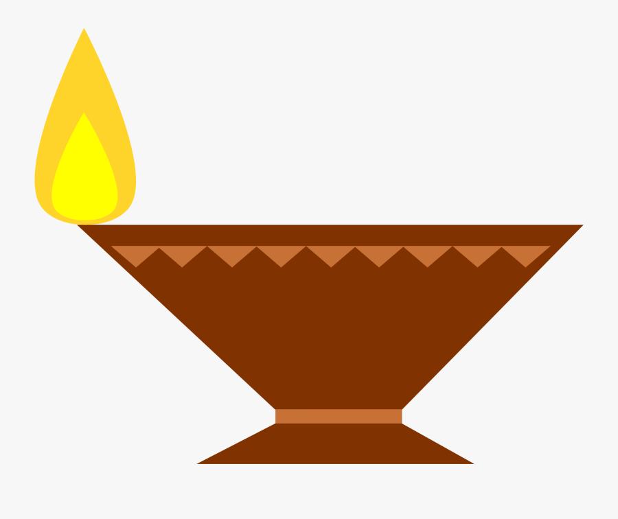 Cracker Clipart Diva Lamp - Diwali Diya Clip Art, Transparent Clipart