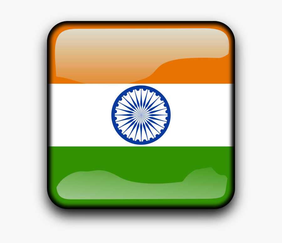 Electrode - Clipart - Small Image India Flag, Transparent Clipart