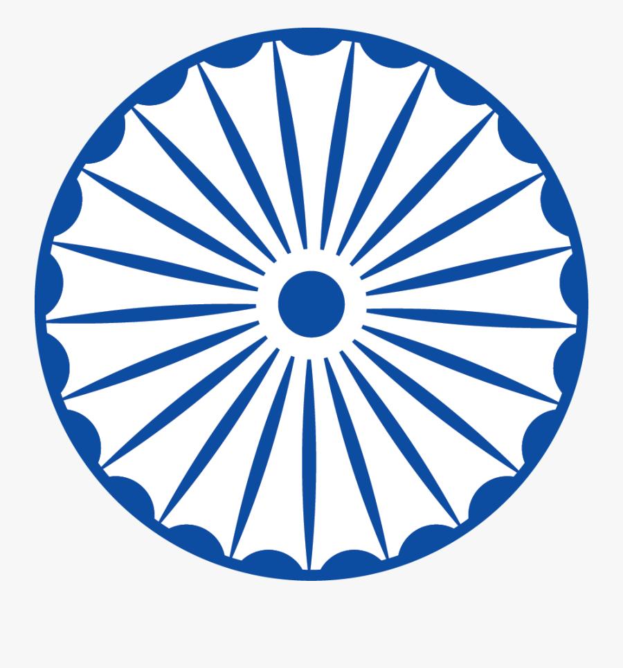 India Transparent Blue - Indian Flag Chakra Png, Transparent Clipart