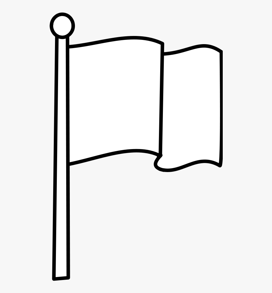Line Art,square,angle - National Flag Clipart Black And White, Transparent Clipart