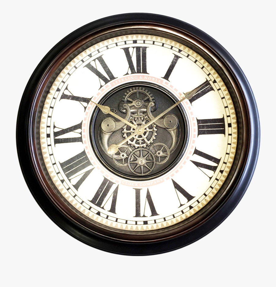 Wall Watch Png Transparent Image - Wall Clock Old Png, Transparent Clipart