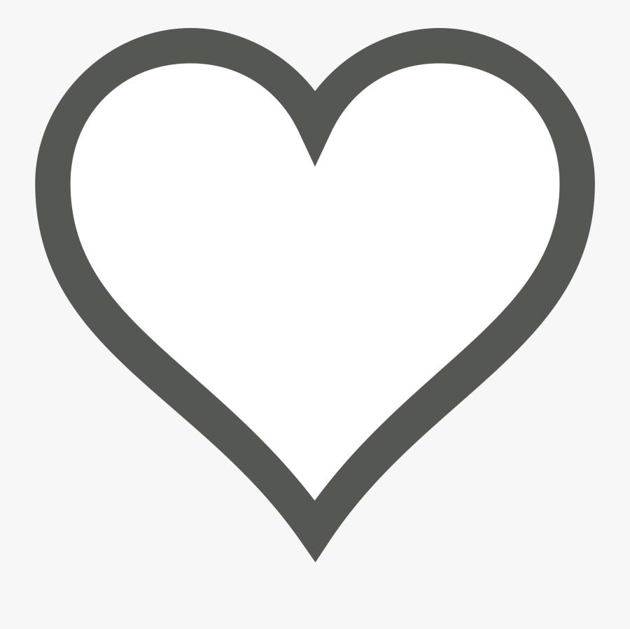 Heart,love,organ - Heart Emoji Coloring Page, Transparent Clipart