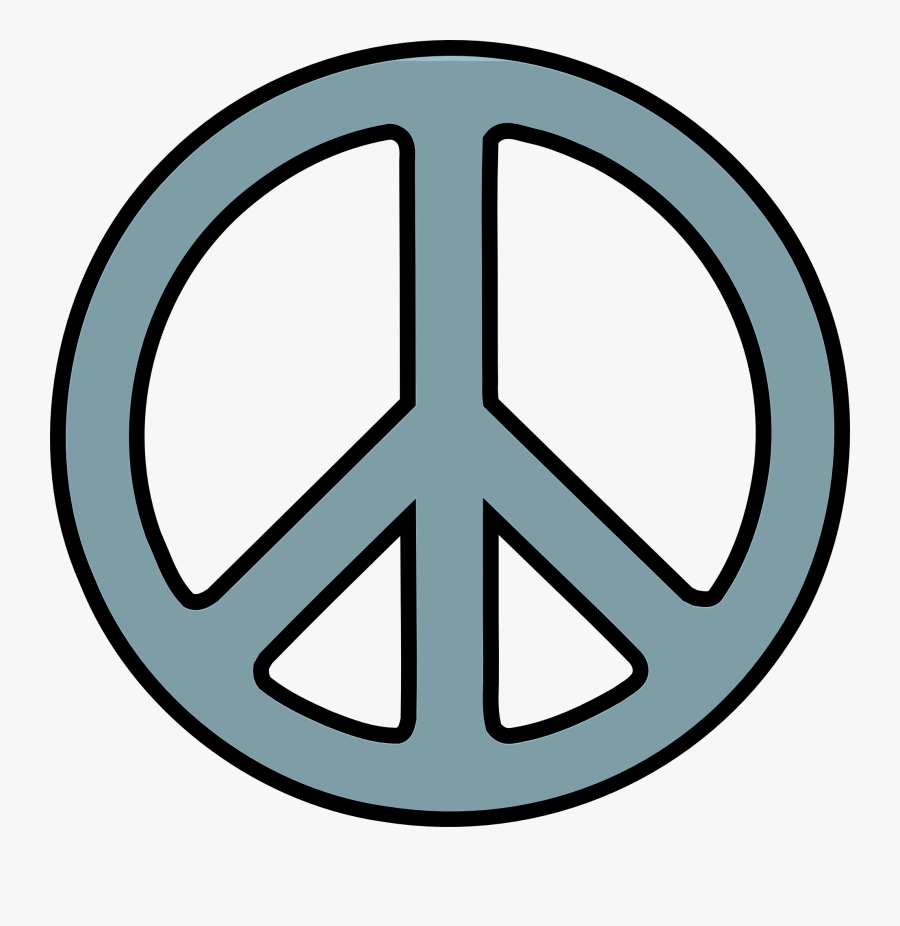 Peace And Love Clipart At Getdrawings - Peace Sign Cartoon, Transparent Clipart