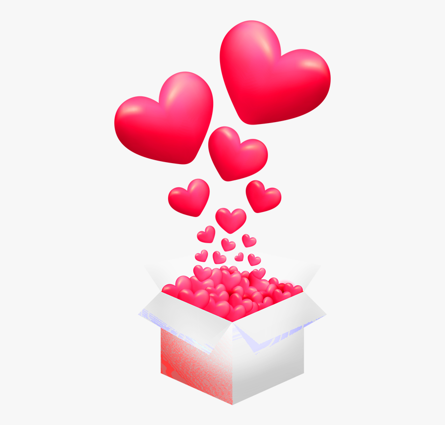 Heart Box Png - Friends Happy Valentines Day, Transparent Clipart