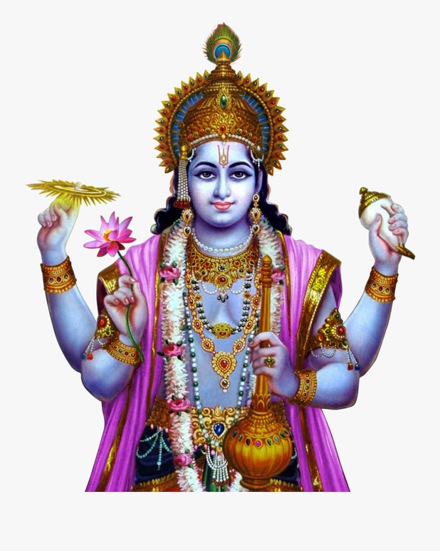 Lord Shiva, Gods Cliparts And Images - God Vishnu Images Png, Transparent Clipart