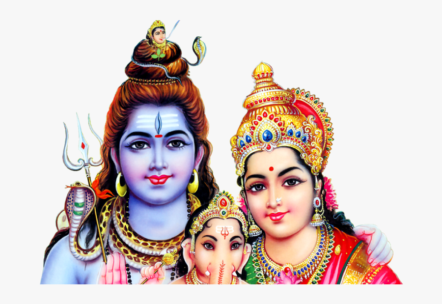 Shiva Png - Lord Shiva Parvathi Images Png, Transparent Clipart
