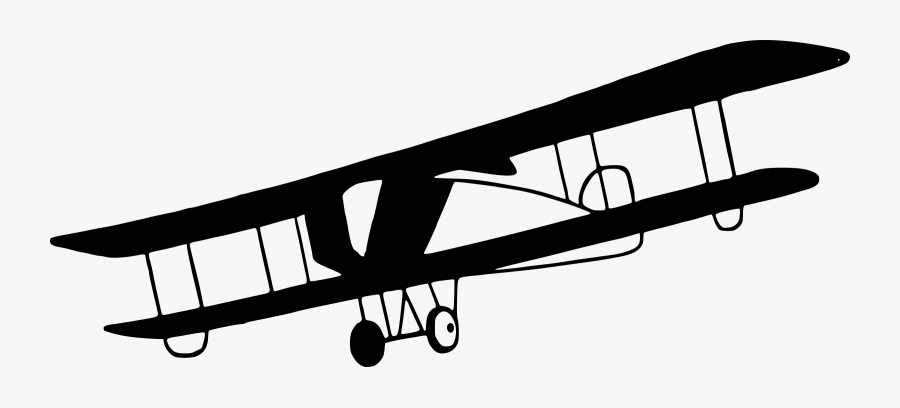 Vintage Biplane Png Clipart - Old Airplanes Clipart, Transparent Clipart