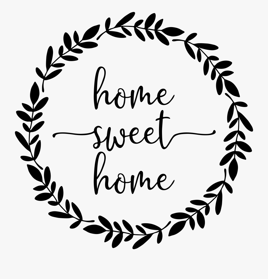 Transparent Home Clipart Png - Home Sweet Home Transparent, Transparent Clipart