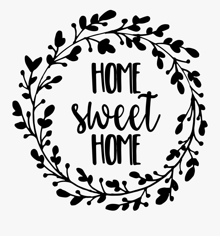 Load Image Into Gallery Viewer, Carrie& - Home Sweet Home Cut File, Transparent Clipart