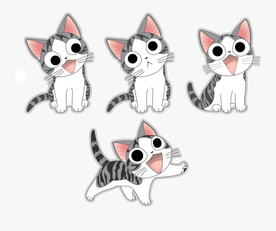 Gatos Anime Png - Chi's Sweet Home Png, Transparent Clipart