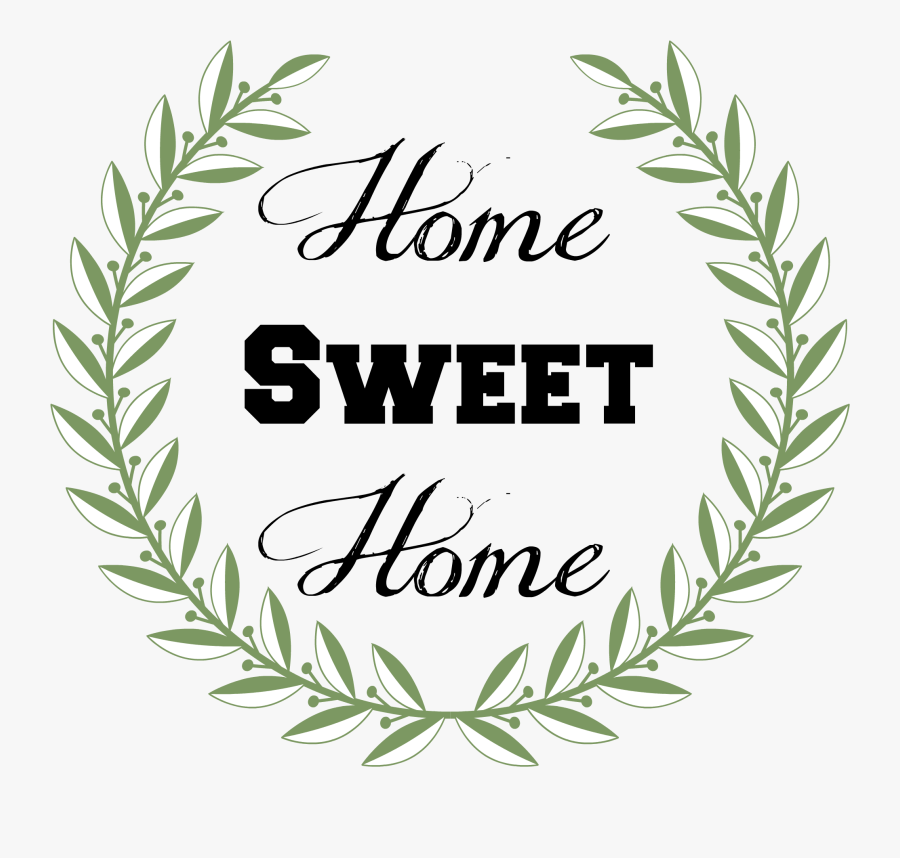 Home Sweet Home Sign Tutorial From Our Southern Home - Home Sweet Home Sign Free, Transparent Clipart