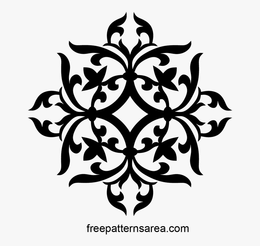 Transparent Simple Lace Patterns Clipart - Transparent Background White Pattern Png, Transparent Clipart