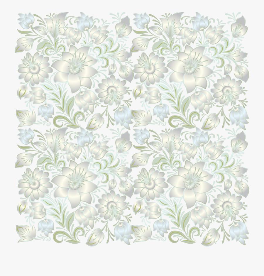 Transparent Simple Lace Patterns Clipart, Transparent Clipart