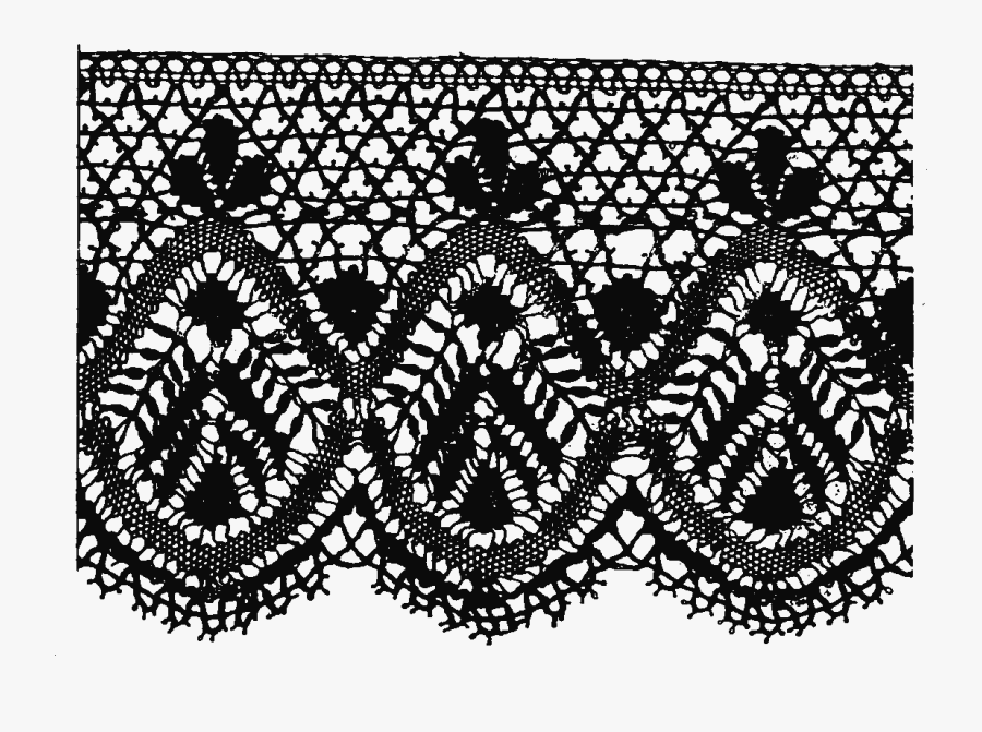 Laces Vector Free Download On Kathleenhalme - Guipur Png, Transparent Clipart