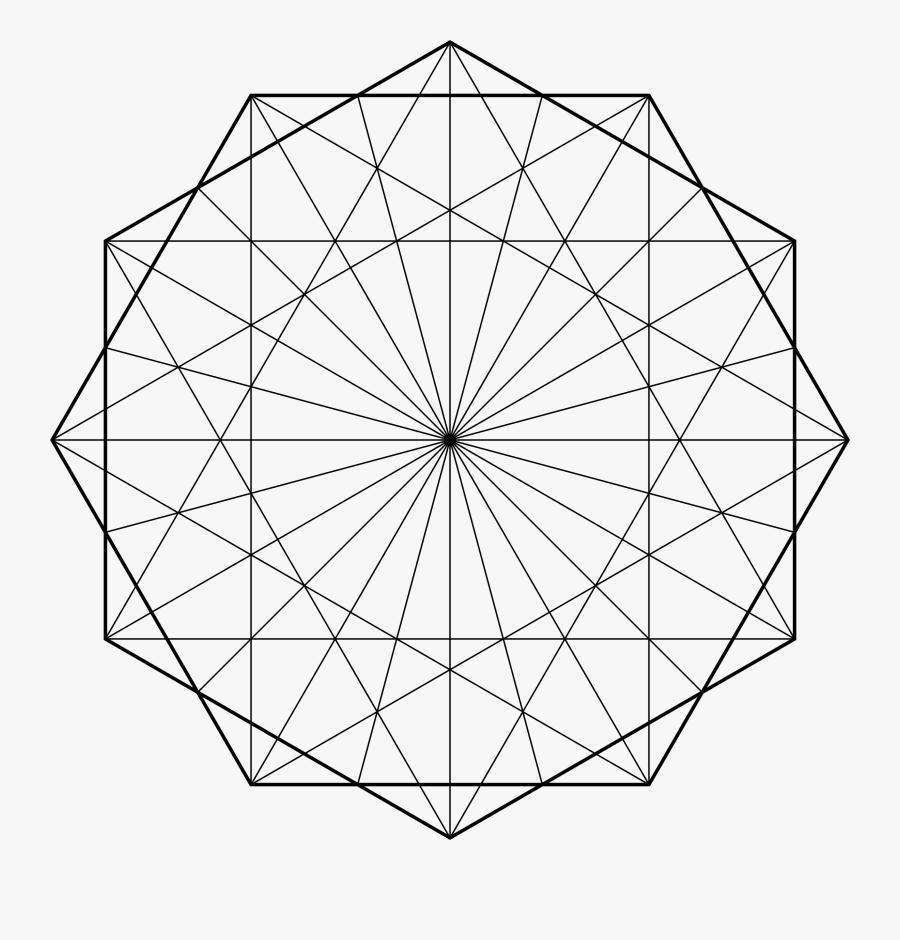 Clip Art Clipart Design Line Art - Geometric Line Art Png, Transparent Clipart