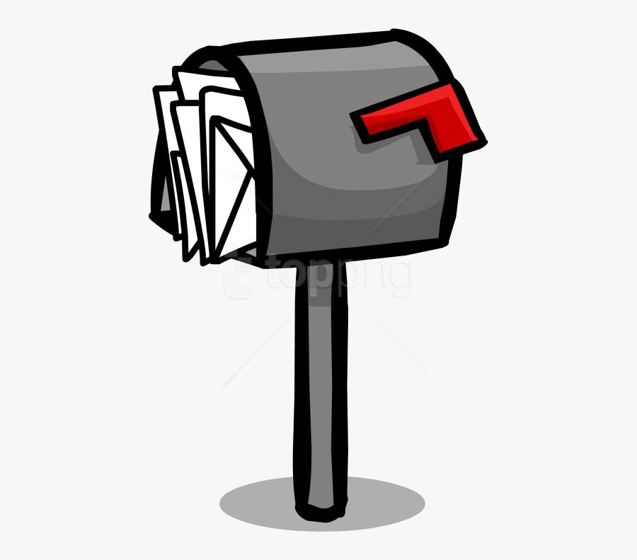 Transparent Countryside Clipart - Transparent Background Mailbox Clipart, Transparent Clipart