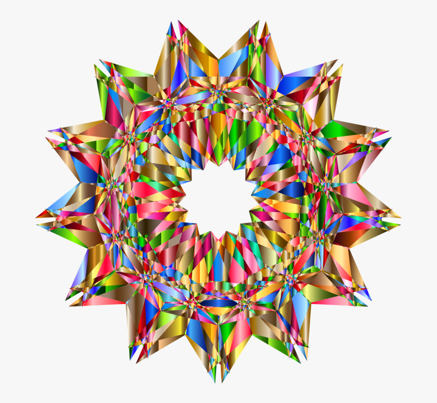 Clipart Psychedelic Vector Minimal - Symmetry, Transparent Clipart