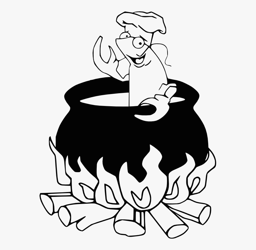Need Some Help Please - Crawfish Boil Black And White, Transparent Clipart