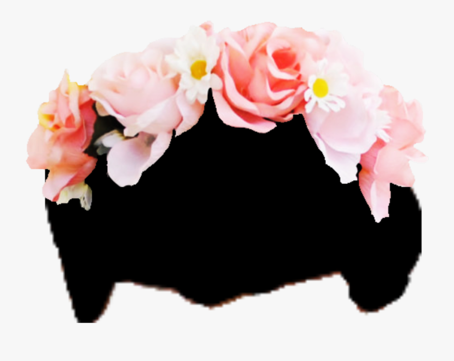 Hd Flowercrown Sticker - Pink Flower Crown Png, Transparent Clipart